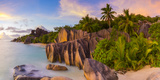 Anse Source D'Argent Beach  La Digue  Seychelles