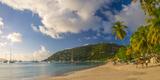 Caribbean  British Virgin Islands  Tortola  Cane Garden Bay  Cane Garden Bay Beach