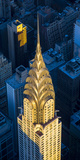 Chrysler Building  Manhattan  New York City  New York  USA