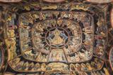 Romania  Transylvania  Sinaia  Sinaia Monastery  Small Church  Exterior Frescoes