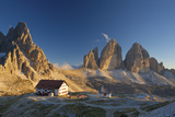 Le Tre Cime Di Laveredo  Dolomites  Trentino  South Tyrol  Italy