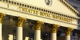 Theatre Royal Portico Detail  Haymarket  Piccadilly  London