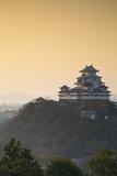 Himeji Castle (Unesco World Heritage Site) at Dawn  Himeji  Kansai  Honshu  Japan
