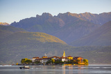 The Idyllic Isola Dei Pescatori (Fishermen's Islands) Illuminated at Sunrise  Borromean Islands