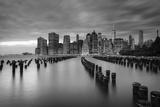 Usa  New York  New York City  Lower Manhattan Skyline