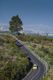 Spain  Canary Islands  Tenerife  Valle De La Orotava  Elevated View of the Tf 21 Road