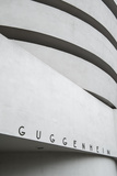 Guggenheim Museum  5th Avenue  Manhattan  New York City  New York  USA
