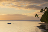 People Kayaking at Sunset  Leleuvia Island  Lomaiviti Islands  Fiji