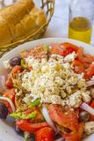 Greek Panzanella Salad  Kalymnos  Dodecanese  Greek Islands  Greece  Europe