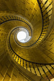 Triple Spiral Staircase of Floating Stairs Convent of Santo Domingo De Bonaval
