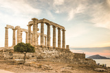 Greece  Attica  Cape Sounion  Temple of Poseidon