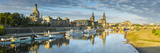Elbe River  and City Skyline  Dresden  Saxony  Germany