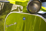 Close Up of Italian Vespa  Italy