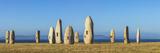 Menhirs Standing Stones  Paseo Dos Menhires  La Coruna  (A Coruna)  Galicia  Spain
