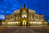 Opera House (Semperoper Dresden)  Dresden  Saxony  Germany