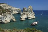 Kleftiko  Milos  Cyclades  Greece