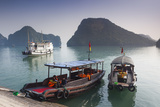 Vietnam  Halong Bay  Tito Island  Water Taxis