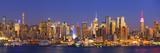 Usa  New York  New York City  Manhattan Skyline from New Jersey