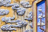 Vietnam  Hue  Hue Imperial City  Dien Tho Residence  Building Detail