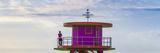 USA  Miami  Miami Beach  South Beach  Life Guard Beach Hut