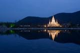 Manlongfei Pagoda  Ling Shan  Wuxi  Jiangsu Province  China