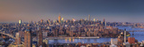 Usa  New York City  Manhattan Skyline from Brooklyn