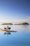 Pool of Sofitel Hotel and Sofitel Private Island  Bora Bora  Society Islands  French Polynesia (Pr)