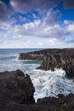 Spain  Canary Islands  Lanzarote  El Golfo  Los Hervideros  Coastal Blowholes