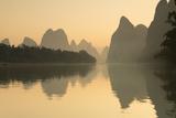 Li River at Dawn  Xingping  Yangshuo  Guangxi  China