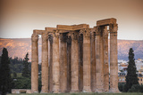 Greece  Attica  Athens  the Temple of Zeus  also known as the Olympieion
