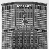 Helmsley and Metlife Buildings  Park Avenue  Manhattan  New York City  New York  USA