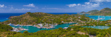 Caribbean  Antigua  English Harbour from Shirley Heights
