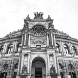 Opera House (Semperoper Dresden)  Dresden  Saxony  Germany