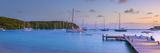Caribbean  Antigua  Freeman's Bay  Galleon Beach at Dusk