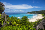 Grand Anse Beach  La Digue  Seychelles