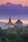 Myanmar (Burma)  Temples of Bagan (Unesco World Heritage Site)  Ananda Temple and Thatbynnyu Pagoda