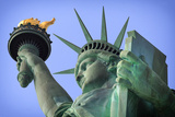 Usa  New York  New York City  Statue of Liberty National Monument