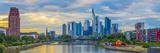 Germany  Hessen  Frankfurt Am Main  River Main  City Skyline