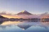 Japan  Fuji - Hakone - Izu National Park  Mt Fuji and Kawaguchi Ko Lake