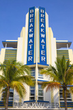 USA  Miami  Miami Beach  South Beach  Ocean Drive  Breakwater Hotel