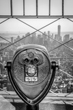 Usa  New York  Manhattan  Lower Manhattan from Empire State Building  Freedom Tower in Background