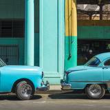 Classic 50s American Cars  Avenida De Italia  Centro Habana  Havana  Cuba