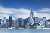 View of Convention Centre and Hong Kong Island Skyline  Hong Kong  China