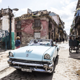 Classic American Car   Habana Vieja  Havana  Cuba