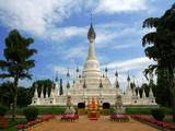 White pagoda  Yunnan Nationalities Village  Kunming  Yunnan Province  China