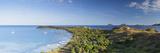 View of Mana Island  Mamanuca Islands  Fiji