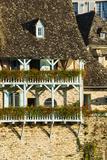 Typical Architecture in Argentat, Limousin, France Papier Photo par Nadia Isakova
