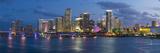 Downtown Miami Skyline  Miami  Florida  USA  North America