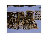 Train, 1983 Reproduction d'art par Andy Warhol
