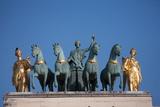 Arc de Triomphe du Carrousel in Paris  Tuilerie  1st arrondissement June 5  2013